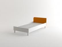 Łóżko młodzieżowe - oranż lub szary - OH'RANGE - OL
