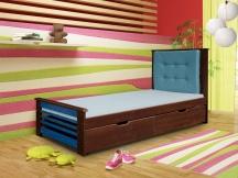 Tapczan jednoosobowy Paulina - łóżko dziecięce 80x181