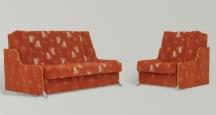 Roki 3R  fotel rozkładany. Boki tapicerowane