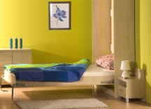 Vasa 90 łóżko rozkładane pionowe Meble Dąb