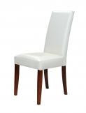 Krzesło Nanni z łączynkami skóra