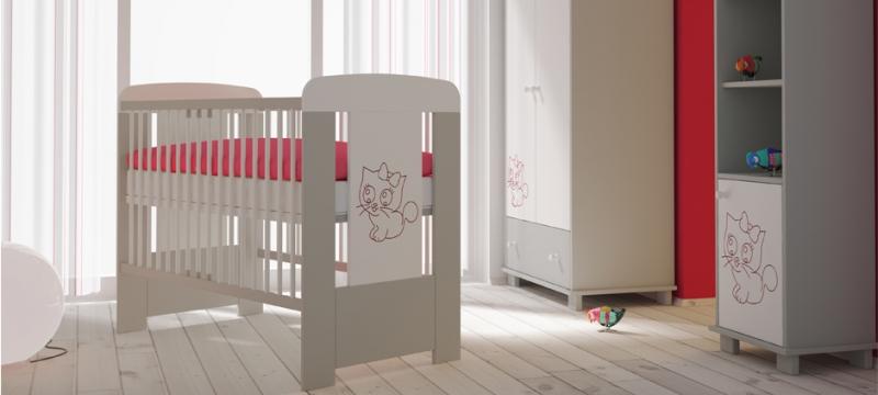 eczko dla niemowl t i dzieci odcienie szaro ci kitty tl 2 internetowy sklep meblowy. Black Bedroom Furniture Sets. Home Design Ideas