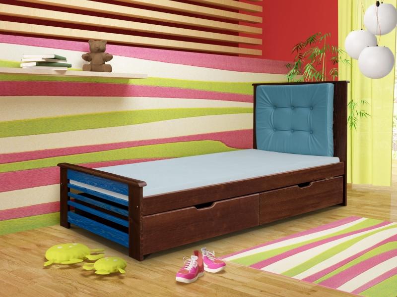 łóżko Jednoosobowe Paulina Tapczan Dziecięcy łóżko