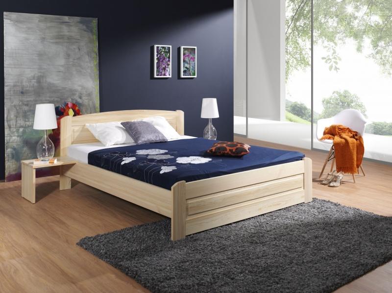łóżko Sosnowe Do Sypialni Bazyl Meble Sypialniane