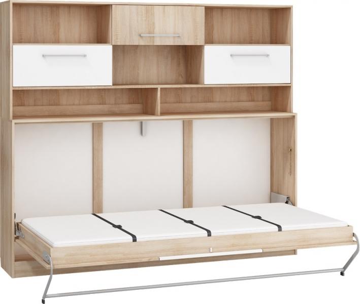 p kotapczan z nadstawk roger 90x200 poziomy z materacem. Black Bedroom Furniture Sets. Home Design Ideas