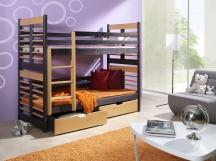 Piętrowe łóżko Augustyn - podwójne łóżko dziecięce