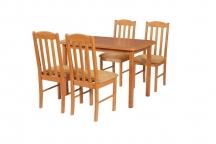 Zestaw mebli do jadalni 2 - Stół i Krzesła
