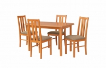 Zestaw mebli do jadalni 4 - Stół i Krzesła
