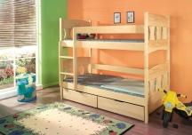 Piętrowe łóżko Wiktor - podwójne łóżko dziecięce