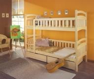 Piętrowe łóżko Dominik - meble dziecięce
