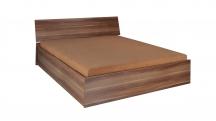 Duże łóżko sypialniane z pojemnikiem na pościel - Sypialnia Penelopa P7