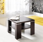Elegancki stolik kwadrat do salonu, pokoju gościnnego