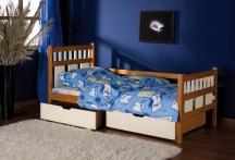 Łóżko sosnowe Luiza, tapczan jednoosobowy młodzieżowy