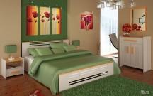 Łóżko sypialniane- Levanzo
