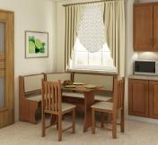 Narożnik kuchenny - Zestaw kuchenny z krzesłami B