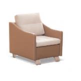 Fotel Queen Wood - elegancki fotel do salonu