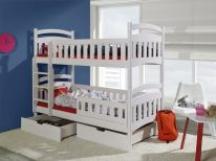 Piętrowe łóżko Dominik II - meble dziecięce