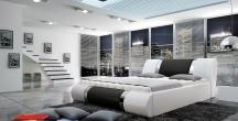 Tapicerowane łoże sypialniane ATLANTIS 140X200