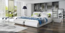 Tapicerowace łóżko sypialniane CALLISTO 140X200