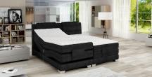 Tapicerowane łóżko kontynentalne WAVE + TOP STANDARD 140X200