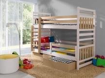 Piętrowe łóżko MIROMIR - meble dziecięce