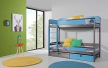 Piętrowe łóżko Natu II - podwójne łóżko piętrowe