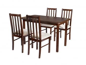 Zestaw mebli do jadalni 3 - Stół i Krzesła