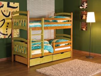 Piętrowe łóżko Jakub II. - łóżko dziecięce.