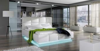 Tapicerowane łóżko ASTI 140X200 do sypialni