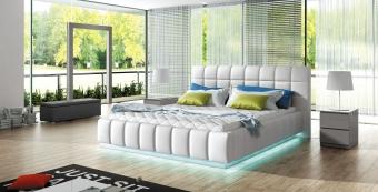 Tapicerowane łóżko do sypialni PRATO 140x200