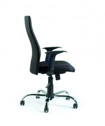 Fotel biurowy - Black on Black (W-93A-4)