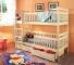 Piętrowe łóżko Aleksander - podwójne łóżko dziecięce