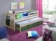 Parterowe łóżko Szymon - podwójne łóżko dziecięce