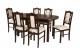 Zestaw mebli do jadalni 8 - Stół i Krzesła