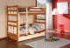 Piętrowe łóżko Oliwier - podwójne łóżko dziecięce