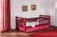 Łóżko Alicja z barierką  - bezpieczny tapczanik dziecięcy jednoosobowy