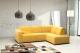 Klasyczna i elegancka kanapa narożna Blanka