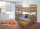 Piętrowe łóżko Jakub - podwójne łóżko dziecięce